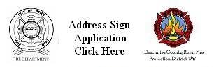 Address Sign Application