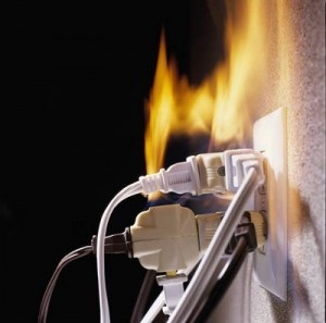 Image result for electrical fire safety
