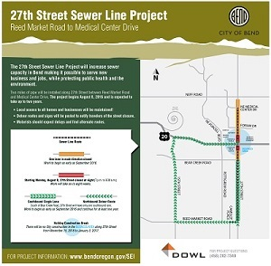 Link to 27th Street Sewer Line Flyer
