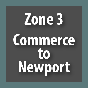 Zone 3 - Commerce to Newport