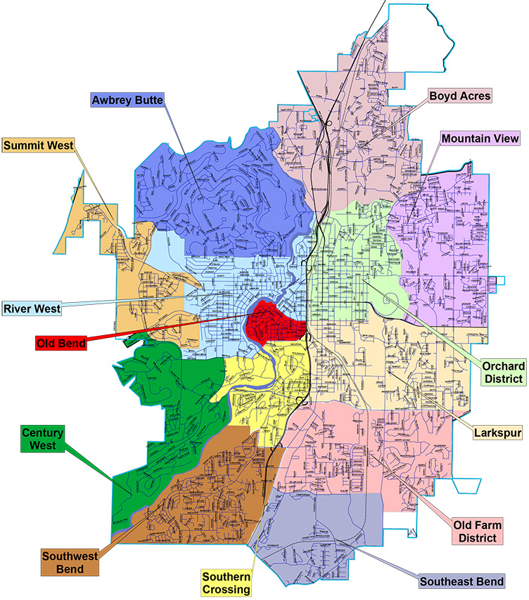 Neighborhood Associations Map