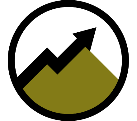 Council Goal 1 growth icon.