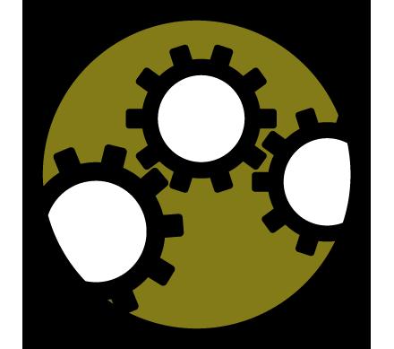Council Goal 5 modernization icon.