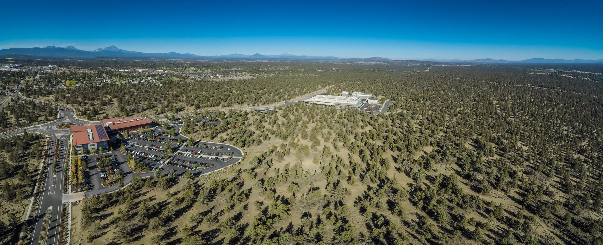 Aerial photo of Juniper Ridge