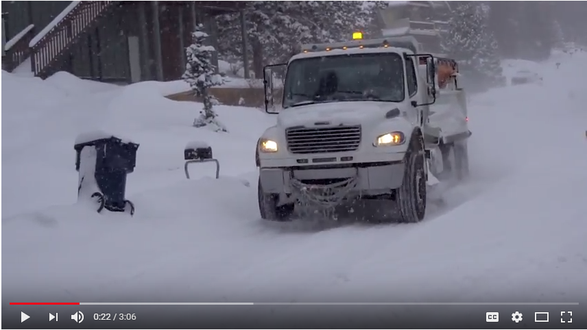 Picture of City of Bend Youtube Video on Snow Removal