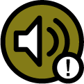 Noise variance icon.