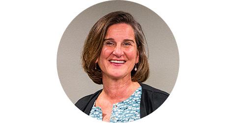 Mayor Sally Russell portrait.
