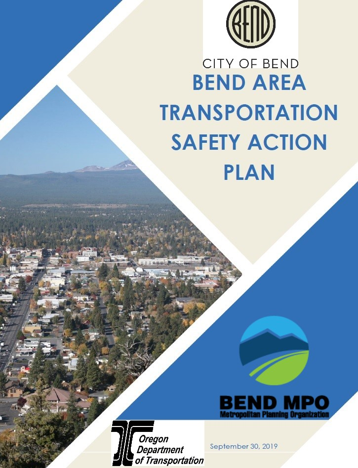 Bend Transportation Safety Action Plan September 2019 Cover of Report