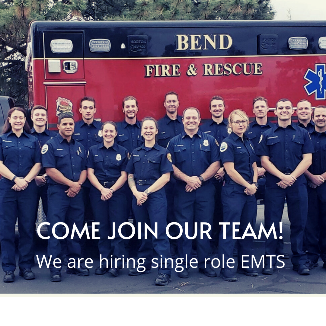 Come Join our TEAM! We are hiring single roll EMT's