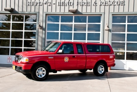 Bend Fire Prevention Staff Rig