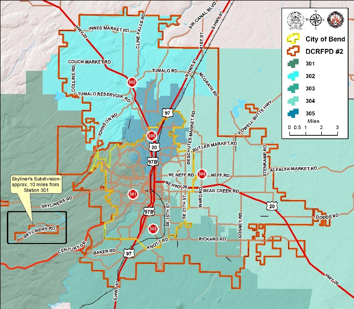 Fire Protection Area with Stations