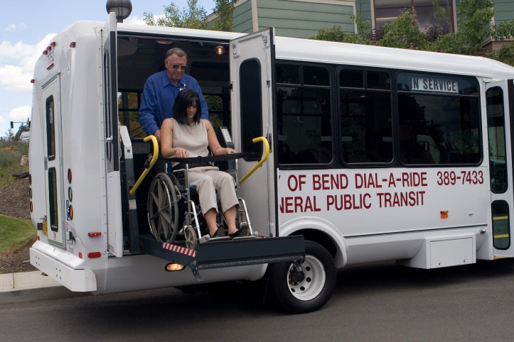 Bend Area Transit 2005, Dial a Ride