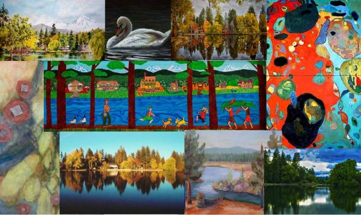 Mirror Pond Collage