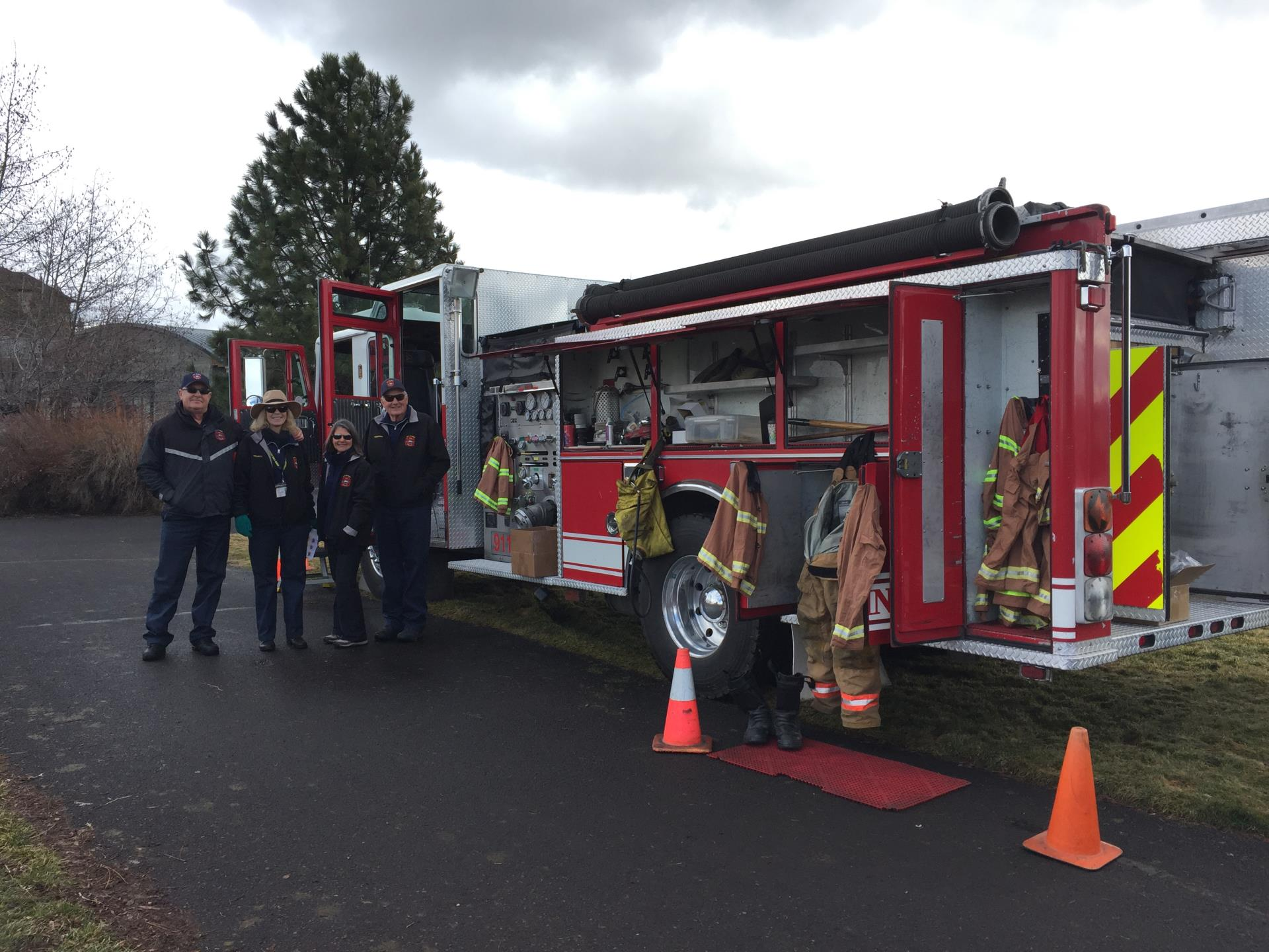 Bend Fire Dept Volunteers 2