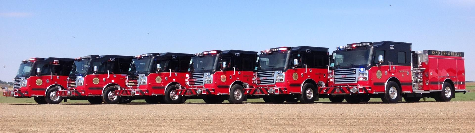 2015 Bend Fire Engines