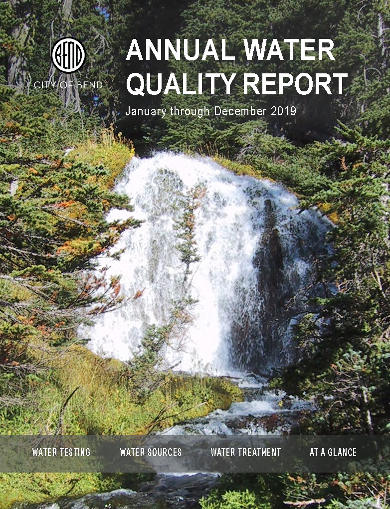 Cover page of City of Bend Utility Department Annual Report 2016