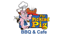 The Pickled Pig logo.