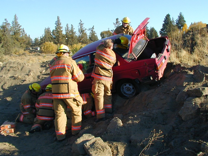 Vehicle extrication training