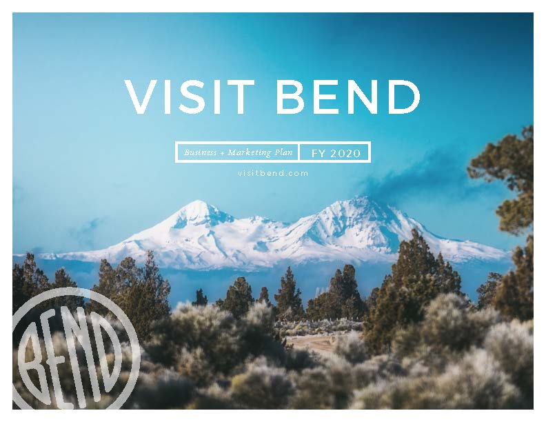 Visit Bend Business Plan cover