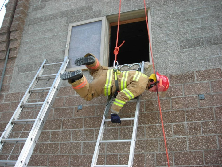 Camp Fire Axe Falling