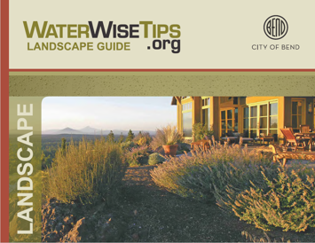 WaterWise Landscape Guide Cover