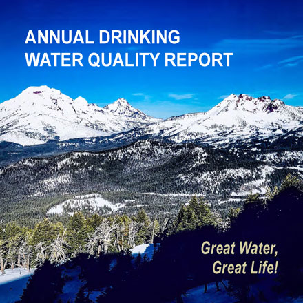 Annual Drinking Water Quality Report cover.