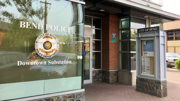 Bend Police Department's new Downtown Substation.