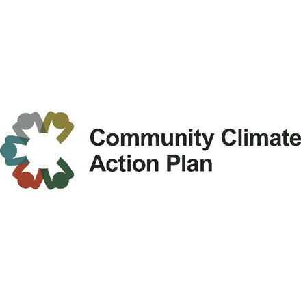 Community Climate Action Plan logo.